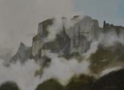 Kanisfluh im Nebel, Bregenzerwald